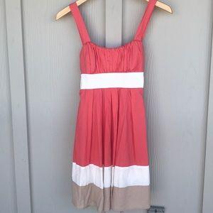 Adorable Neapolitan Cotton Dress with Sash